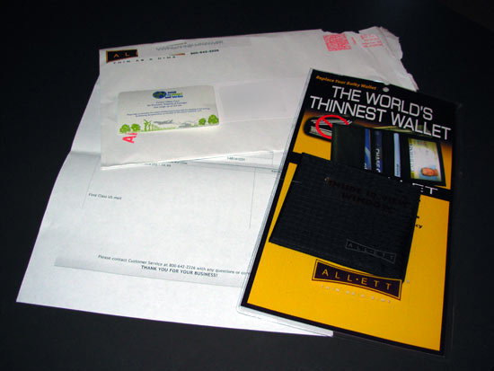 Contents of the Envelope